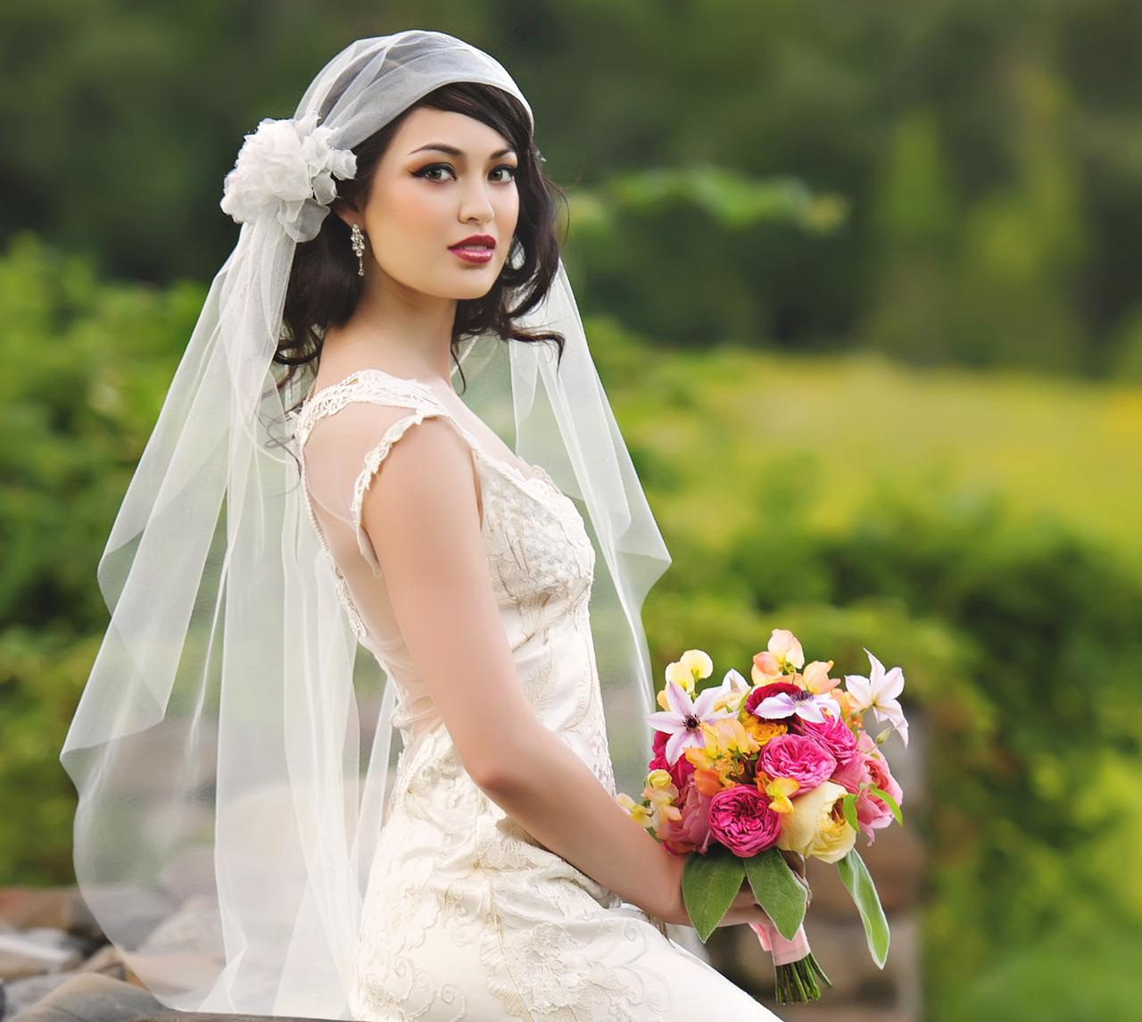 Bride photo AFTER retouching